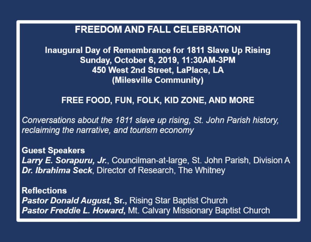 Freedom and Fall Celebration