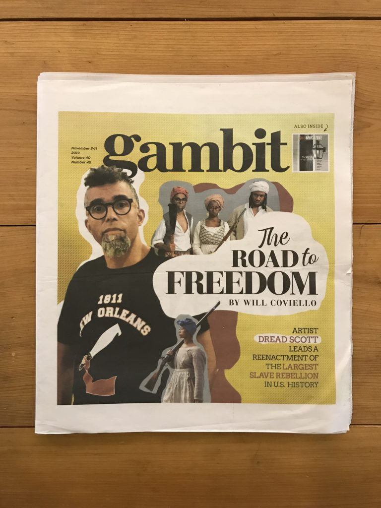 SRR featured in Gambit Weekly